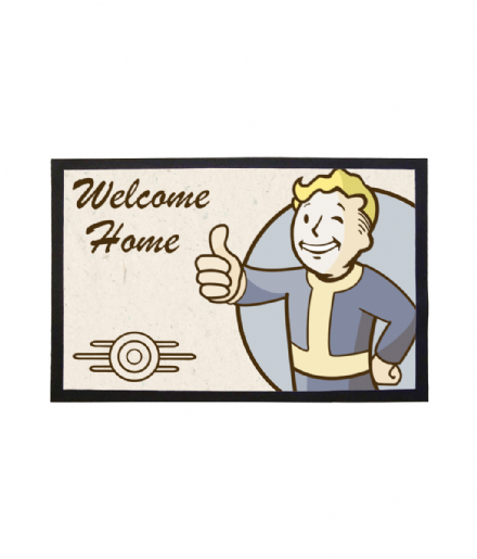 Doormat Vault Boy Welcome Home Mat from Fallout